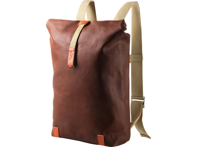 Brooks Pickwick Canvas Backpack size M rust/brick